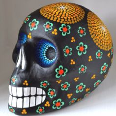 Mexico Day of the Dead skull.