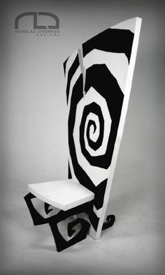 Nicholas Leiferman Design Burtonesque Chair