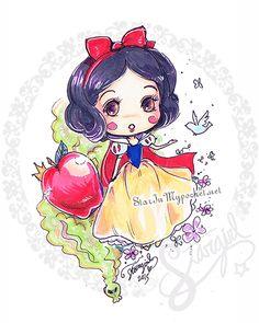 Snow White by StarMasayume.deviantart.com on @DeviantArt