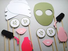 12 Spa Tag Photo Booth Props Photo Booth Props von CleverMarten