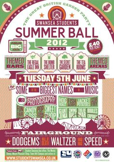 Student Swansea Events | SUMMER BALL 2012