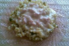 Brokolice s těstovinami a sýrovou omáčkou Risotto, Potato Salad, Oatmeal, Potatoes, Breakfast, Ethnic Recipes, Food, The Oatmeal, Morning Coffee
