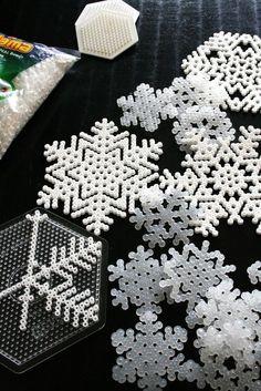 *snowflakes, hana beads