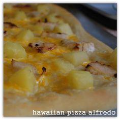 feingold friendly food - Hawaiian Pizza Alfredo (no tomatoes!)
