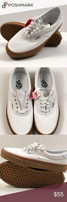 5ffaadd370 Vans Era 59 Canvas Gum True White Light Gum Skate. Vans Era 59 Canvas