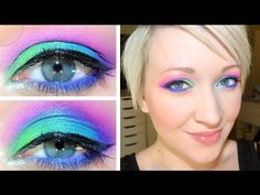 UD Electric Palette Tutorial #1: Peacock Eyes from @Leesha