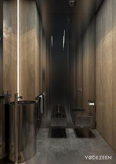 Luxus Badezimmer In Schwarz Gold Badarmaturen Braun Holz Hexagon Fliesen  #bathroom #style | Badezimmer Ideen | Pinterest