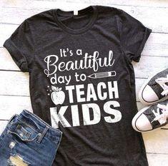 - Teacher Shirts - Ideas of Teacher Shirts - Preschool Teacher Shirts, Teaching Shirts, Teaching Outfits, Preschool Graduation, Teacher Wear, Teacher Style, Teacher Clothes, Teacher Gifts, Teacher Sayings