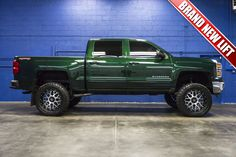 2015 Chevrolet Silverado 1500 LT 4x4 Truck with BRAND NEW LIFT KIT For Sale at…