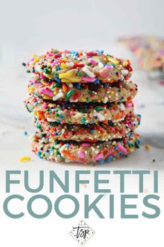 Funfetti Cookies are