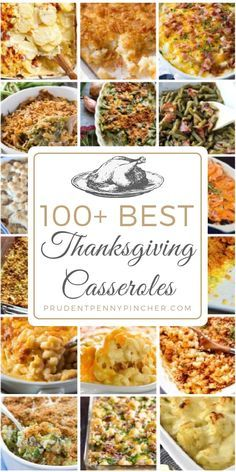 Frugal Food Items - How To Prepare Dinner And Luxuriate In Delightful Meals Without Having Shelling Out A Fortune 100 Best Thanksgiving Casseroles Thanksgiving Casserole, Thanksgiving Dinner Recipes, Thanksgiving Sides, Holiday Dinner, Holiday Recipes, Thanksgiving Crafts, Traditional Thanksgiving Food, Leftover Turkey Casserole, Christmas Casserole