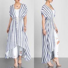 No photo description available. Kimono Fashion, Hijab Fashion, Fashion Dresses, Fasion, Kaftan Designs, Kurta Designs Women, Stylish Clothes For Women, Stylish Outfits, Indian Designer Outfits