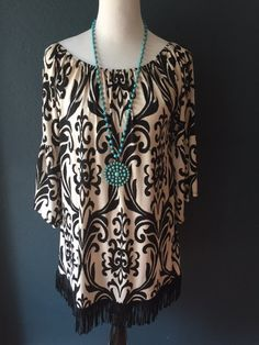 Keystone Tunic from Paisley Grace Boutique