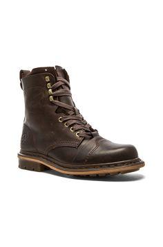 Dr. Martens Pier 9 Tie Boot in Brown | REVOLVE