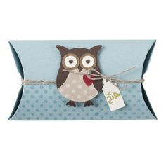 Stampin' Up (SU) Pillow Box