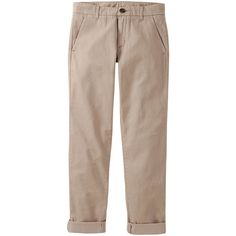 UNIQLO Women Boyfriend Fit Chino Pants ($20) ❤ liked on Polyvore