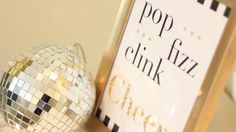 FREE printable 'pop, fizz, clink, cheers' picture! Super cute - download it out www.jessicamelody.com