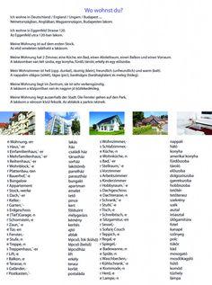 Budapest, I School, German, German Grammar, Hungary, Learn German, Deutsch, German Language
