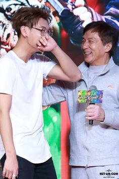 "Railroad Tiger"" ZTao and Jackie Chan"