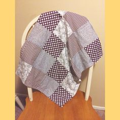 Handmade Patchwork Cotton Baby Girl Car Seat by SwaddlingLove, $25.00