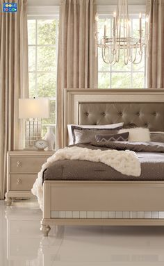 Elegant, luxurious, glamorous. The chic Paris collection combines lavish design with smart organizational features and indulgent comfort to create your dream bedroom.