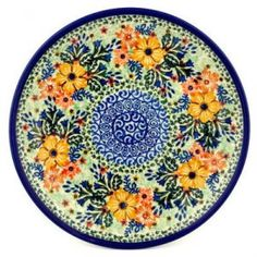 Polish Pottery #U2002 Ceramika Artystyczna, Boleslawiec Pattern P4420A, PolMedia