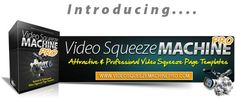 Attractive Video Squeeze Page Machine