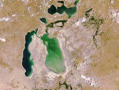 Declining Aral Sea