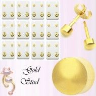 Wholesale Body Jewelry Gold Plated Stud Plain Body Jewelry ES7 Wholesale Body Jewelry, Gold Jewelry, Plating, Place Card Holders, Earrings, Cards, Ear Rings, Stud Earrings, Gold Jewellery