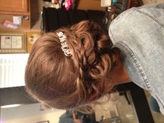 Prom hair updo!