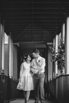 Romantic Elopement to the Downtown Courthouse | Matt Steeves Photography