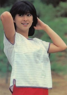 Naoko, Japanese Beauty, Beautiful Person, Retro Fashion, Nostalgia, Singing, Idol, Actresses, T Shirts For Women