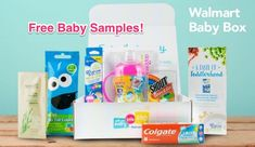 How to Get Boxes Full of Free Samples In the Mail: Free Baby Box from Walmart Free Sample Boxes, Free Boxes, Welcome Gifts, Welcome Baby, Free Baby Samples, Best Subscription Boxes, Baby Box, Free Baby Stuff, Baby Registry