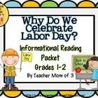 "Why Do We Celebrate Labor Day? is the newest product in my ""Curious Kids"" series! Nonfiction literacy packet about Labor Day and community helpers"