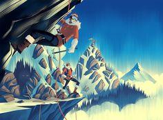 2014 LabelExpo Americas ·Alpine Final Illustration