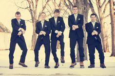 Groomsmen Gangnam Style! Photo by Ashley B. #MinneapolisWeddingPhotographer #WeddingPhotography #Groomsmen