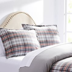 City Scene Hill Top Plaid Cotton Comforter Set