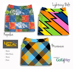 New Loudmouth Golf prints for Fall 2012 - get 'em while they're hot! | Golf4Her.com