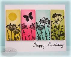 Color Strips by cookiestamper - Cards and Paper Crafts at Splitcoaststampers