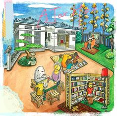 Taiwan's bookstore#6 Illustration 2015 | AJar Hsu | 徐佳伶