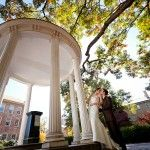 UNC Chapel Hill NC wedding couple by jim colman photography