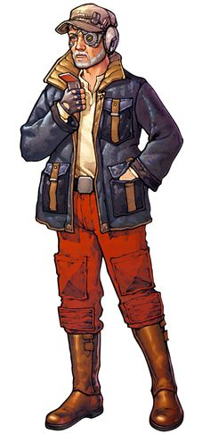Booster Terrik, a Corellian smuggler and father of Mirax Terrik. Former employer of Wedge Antilles and father-in-law of Corran Horn, according to the Legends.