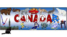 Learn the days of the week and months of the year with this 'Canada' themed pack. It also includes lined paper and page borders for your spelling games, dr. Writing Activities, Teaching Resources, Spelling Games, Page Borders, Alphabet And Numbers, Months In A Year, Banners, Packing, Flag