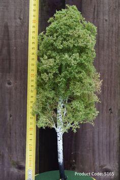 MINIATURE BIRCH TREE, #5165, Scale 1/50-1/20, diorama tree, dollhouse tree, scale model, landscape project, architecture project, scenery