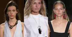 The eclecticism Ropes, bicycle chains, even lighters and capsules all appeared on runway jewelry in a mashup of different objects