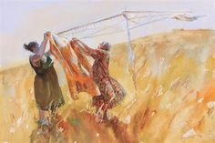 Mary Whyte   WATERCOLOR