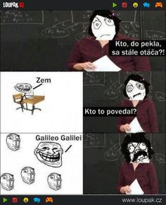 FunnyAnd offers the best funny pictures, memes, comics, quotes, jokes like - Galileo Galilei Derp Comics, Rage Comics, Funny Comics, Wtf Funny, Funny Jokes, Hilarious, Funny Images, Best Funny Pictures, Pretty Pictures