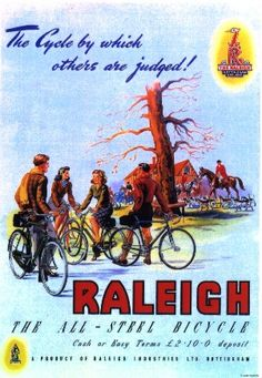 Raleigh Cycles advert