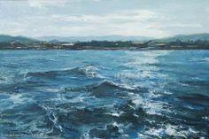 """Gladko Maxim """"Crimea. Sea"""" - oil, canvas"""