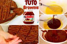 Réalisez facilement ces délicieux brownies à la pâte à tartiner